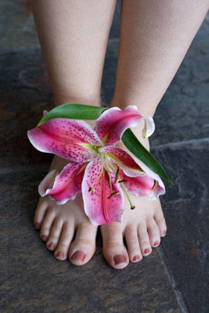 Organic Pedicure Photo